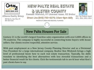 New Paltz Houses For Sale