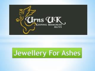 Jewellery For Ashes