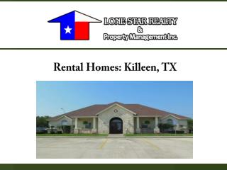 Rental Homes: Killeen, TX