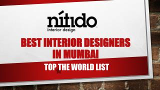 Best interior designers in Mumbai top the world list