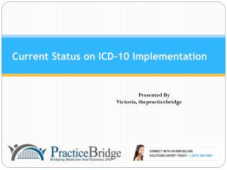 Status On ICD-10 Implementation
