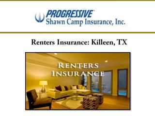 Renters Insurance : Killeen, TX