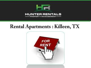 Rental Apartments : Killeen, TX