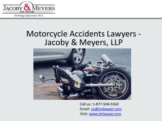 Motorcycle Accidents Lawyers | Jacoby & Meyers, LLP