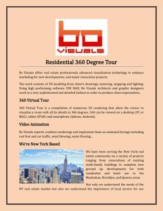 Residential 360 Degree Tour