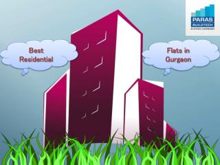 Paras Irene Gurgaon - 2,3,4 BHK Residential Apartments in Gurgaon