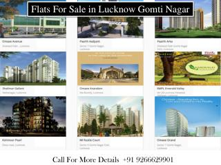 Flats For Sale in Lucknow | Gomti Nagar