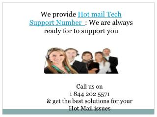1 844 202 5571 Hot Mail Customer Support Number USA