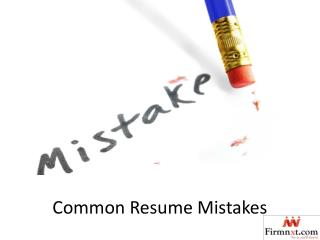 ppt top executive resume format 2016 mistakes powerpoint
