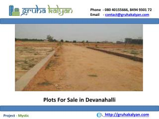 Plots for sale in devanahalli