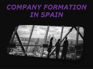 company formation in spain