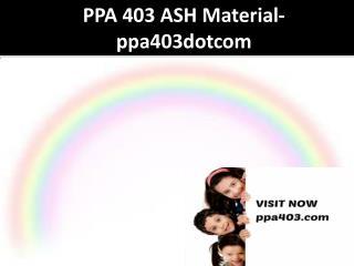 POS 421 UOP Material-pos421dotcom
