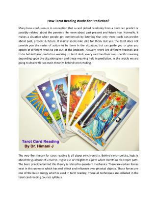 Learn Tarot Card Reading Courses |  Tarot Reader in India