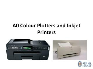 Buy the Latest Inkjet Printers and A0 Colour Plotters in UK from Athema