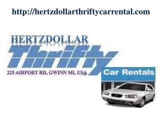 Hertz, Thrifty, Dollar Car Rental Gwinn MI
