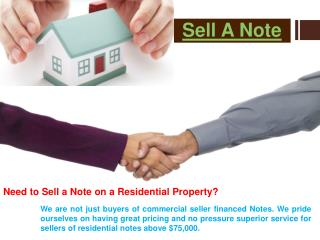 Seller Financed Note Buyer
