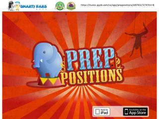 PrepPositions Learning iPad Games By Smarty Ears