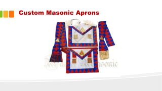 Masonic Aprons | Custom Masonic Regalia Officer Aprons