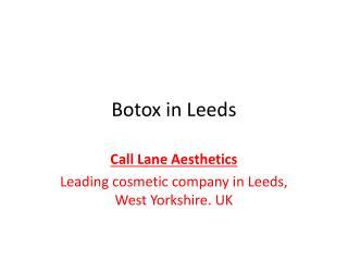 Botox Leeds