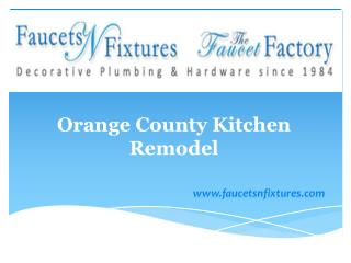 Orange County Kitchen Remodel Products