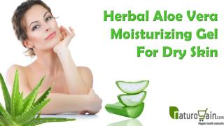 Herbal Aloe Vera Moisturizing Gel For Dry Skin