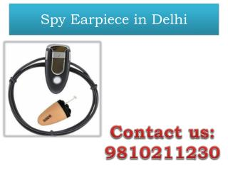 Spy Earpiece in Delhi,9810211230