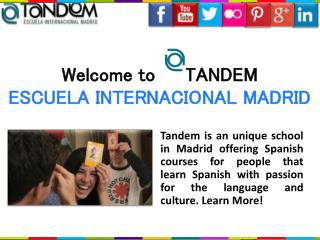 Learning Spanish Madrid