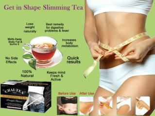 Difference Between Green Tea & Slimming Tea