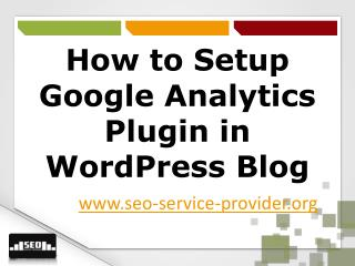 How to Setup Google Analytics Plugin in Wordpress Blog