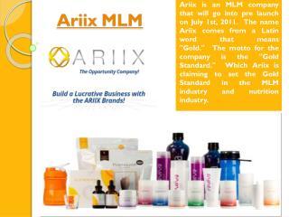 Ariix Network