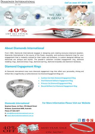Diamonds International - Diamond Engagement Rings