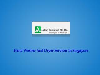 Hand Washer and Dryer
