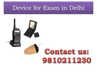 Device for Exam in Delhi,9810211230
