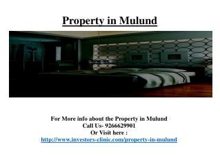 Property in Mulund@9266629901