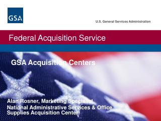 GSA Acquisition Centers