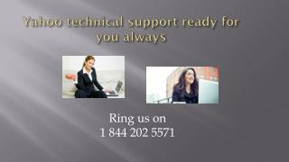 1 844 202 5571 Yahoo Support Number CANADA