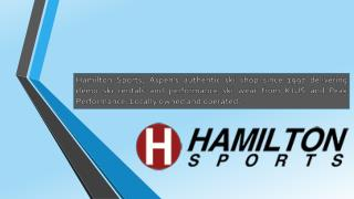 Hamilton Sports- Your One-Stop Shop for Kjus ski wear and Aspen Ski Rentals