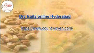 Order dry fruits online | Countryoven