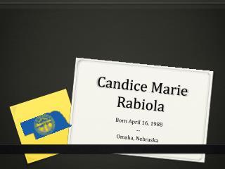 Candice Rabiola