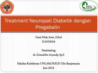 pengaruh pregabalin terhadap neuropati diabetik