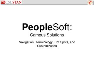 PeopleSoft:  Campus Solutions