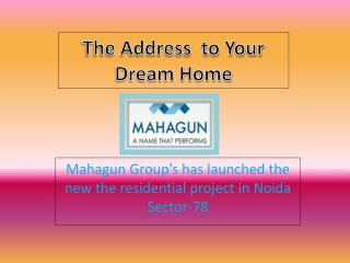 Mahagun Marvella –Residential Apartments In Noida