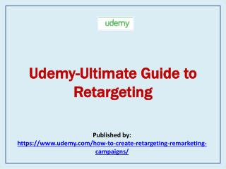 Ultimate Guide to Retargeting