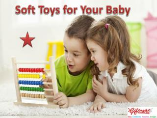Soft Toys for Your Baby