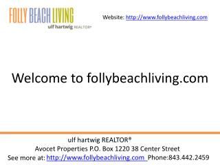Houses For Sale Folly Beach SC