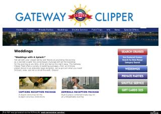 Gateway Clipper Fleet » Pittsburgh Weddings