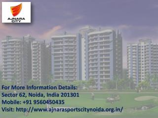 Ajnara Luxurious villas in Greater Noida Call  Us   91 9560450435