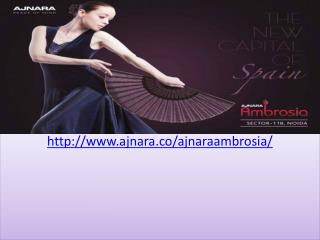 Ajnara Ambrosia 2, 3 and 4 BHK Flats