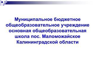 05_2015_МБОУ ООШ п.Маломожайское