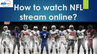 How to watch NFL stream online?